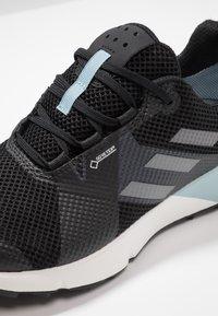 adidas Performance - TERREX TWO GORE TEX TRAIL RUNNING SHOES - Laufschuh Trail - core black/grey three/ash grey - 5