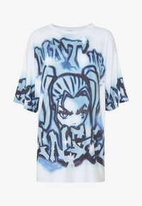 Jaded London - NOT YOUR  - T-shirts med print - blue - 4