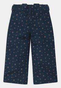 Ziener - AVATINE SLIM UNISEX - Snow pants - dark blue - 2