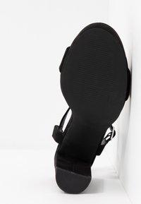 New Look - QUEEN - Sandály na vysokém podpatku - black - 6