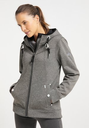 Fleece jacket - grau melange