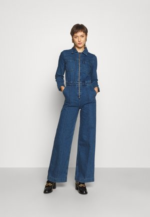 NEW AUDRA ONEPIECE - Jumpsuit - mid blue