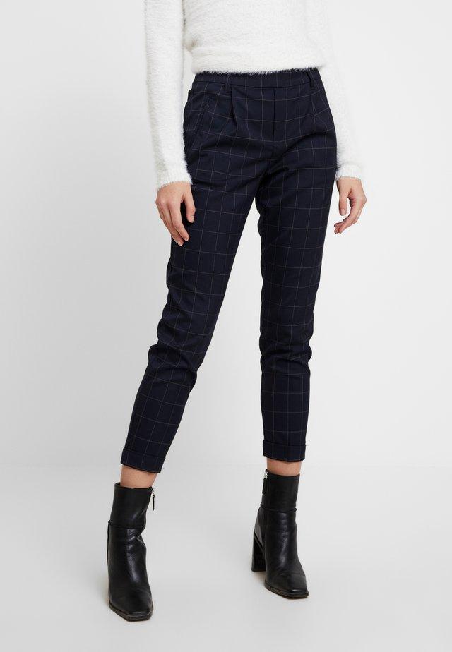 ONLABBIE CHECK PANT - Spodnie materiałowe - night sky
