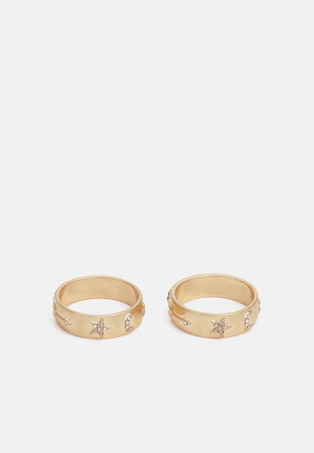 HORSE SHOE 2 PACK - Ring - gold-coloured