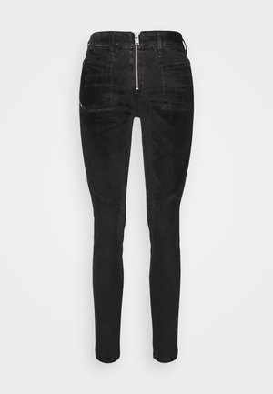 SLANDY-BKX-H-SP - Jeans Skinny Fit - black velvet