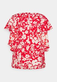 CAPSULE by Simply Be - BALLOON CUFF BLOUSE - Blůza - red - 1