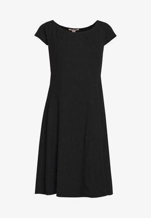 BASIC - Mini dress - Robe en jersey - black
