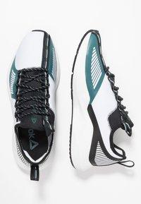 Reebok - SOLE FURY TS - Sports shoes - white/black/green - 1
