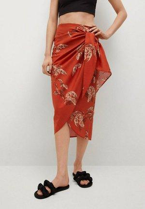 Wrap skirt - rojo