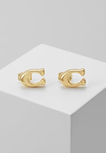 BUBBLE  STUD EARRING - Earrings - gold-coloured