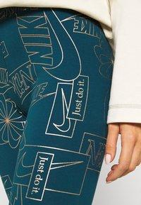 Nike Sportswear - TIGHT - Leggings - Trousers - valerian blue - 5