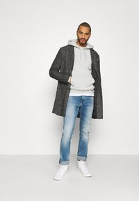 YOURTURN - UNISEX - Jersey con capucha - mottled light grey - 1