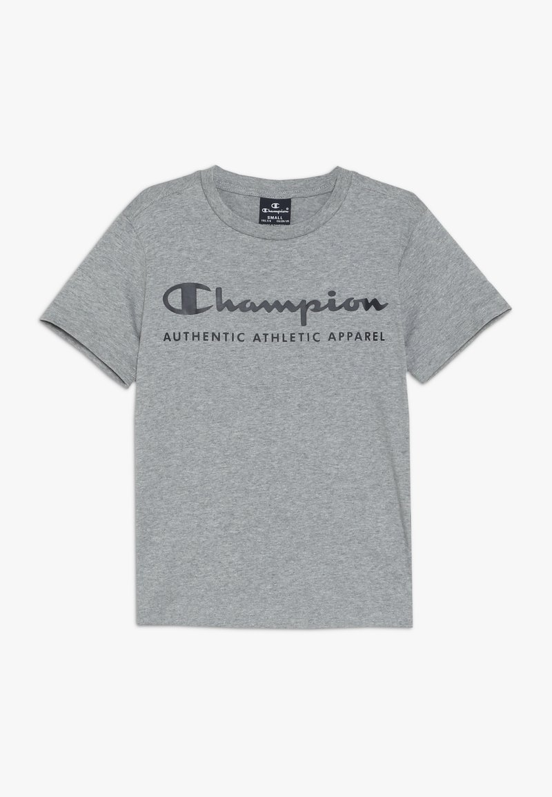 Champion - AMERICAN CLASSICS CREWNECK - Print T-shirt - grey melange
