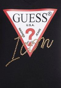 Guess - ICON - Print T-shirt - jet black - 5