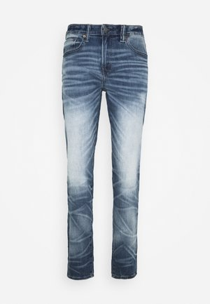 MEDIUM WASH ATHLETIC - Jeans Tapered Fit - worn out blue