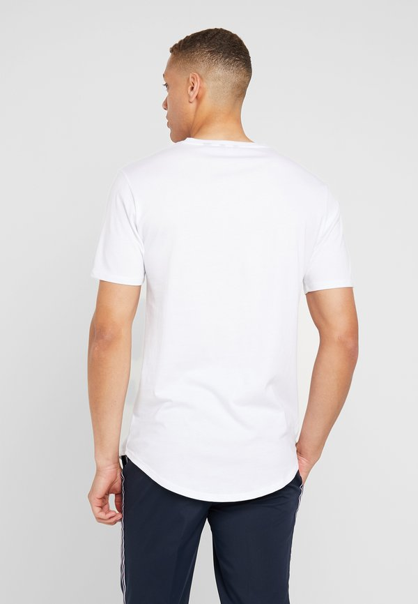 Only & Sons ONSMATT LONGY TEE 3 PACK - T-shirt basic - white/biały Odzież Męska PGVJ