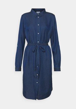 VIBISTA TALL - Denim dress - dark-blue denim