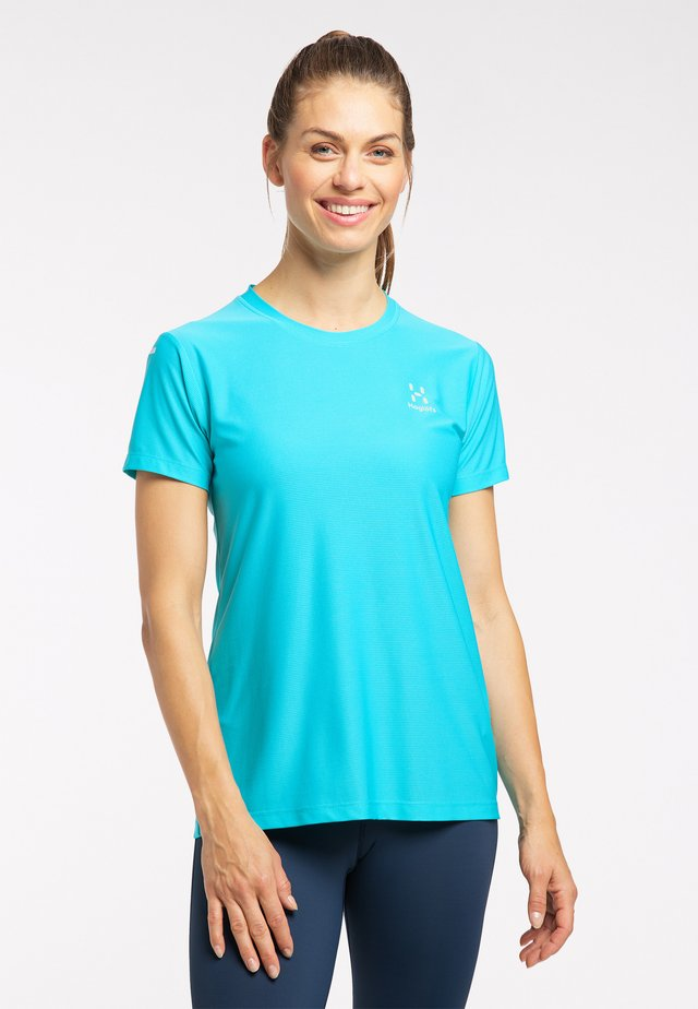Basic T-shirt - maui blue