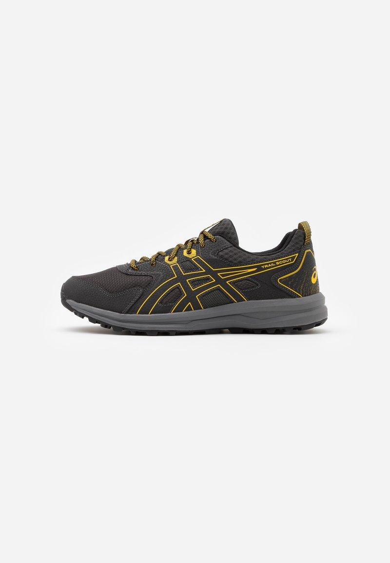 ASICS - SCOUT - Trail running shoes - graphite grey/saffron