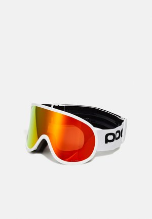 RETINA BIG CLARITY UNISEX - Skibril - hydrogen white/spektris orange
