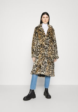 LEOPARD DUSTER - Classic coat - beige