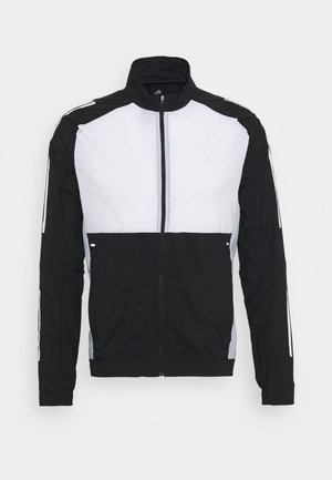 TRACK - Training jacket - black/white