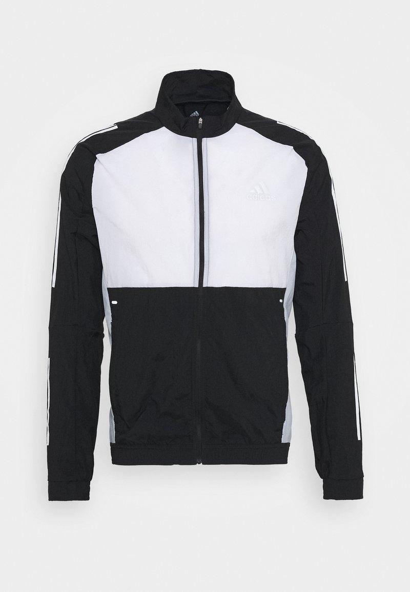 adidas Performance - TRACK - Træningsjakker - black/white