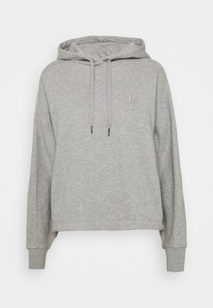 ESSENTIALS HOODY - Sweatshirt - mid grey marl