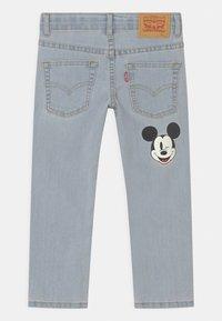 Levi's® - MICKEY MOUSE 511 SLIM UNISEX - Slim fit jeans - light-blue denim - 1