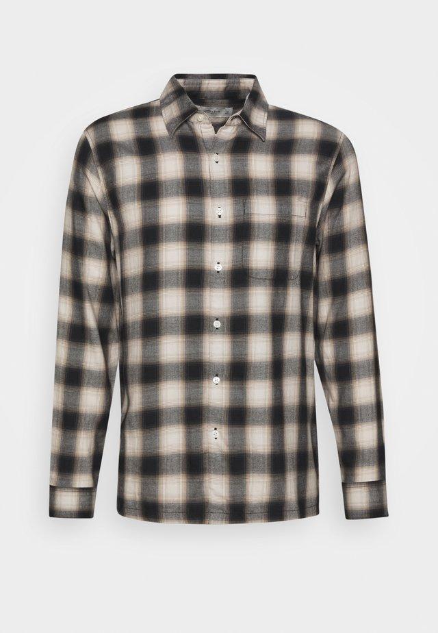 DRAPEY  - Shirt - black/white