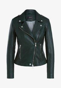 SET - THE TYLER - Leather jacket - scarab - 1