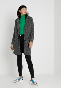 JDY - JDYBESTY  FALL - Classic coat - dark grey melange - 1