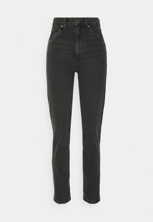 SUSTAINABLE MOM - Džíny Relaxed Fit - black