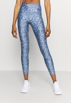 ANKLE LEG - Leggings - mineral blue