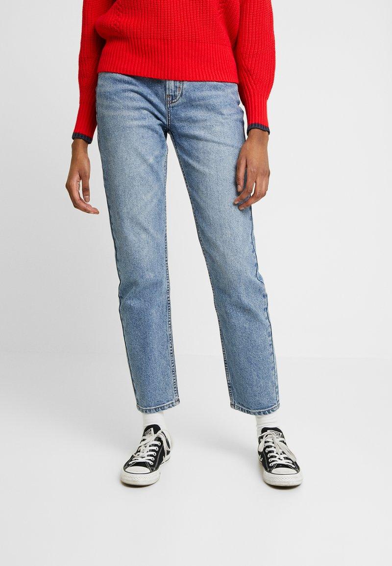 ONLY - ONLEMILY ANKLE - Džíny Straight Fit - medium blue denim