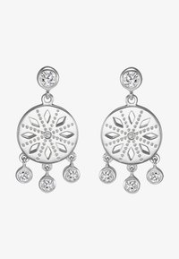 JETTE - Earrings - silver - 1