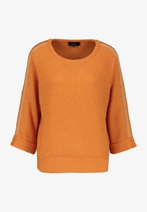 MIT RUNDHALS - Jumper - orange