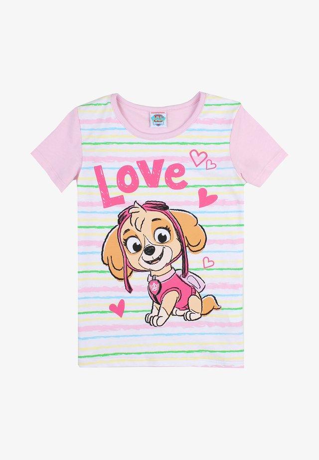 PAW PATROL - Print T-shirt - pink lady