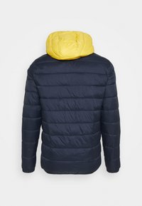 Jack & Jones - JJVINCENT PUFFER HOOD - Winter jacket - yolk yellow - 1