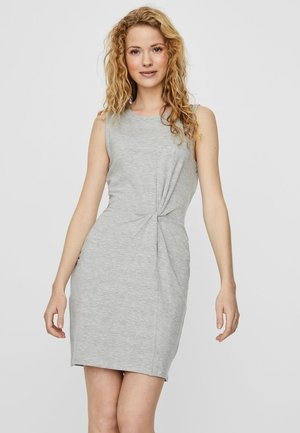 Shift dress - light grey melange