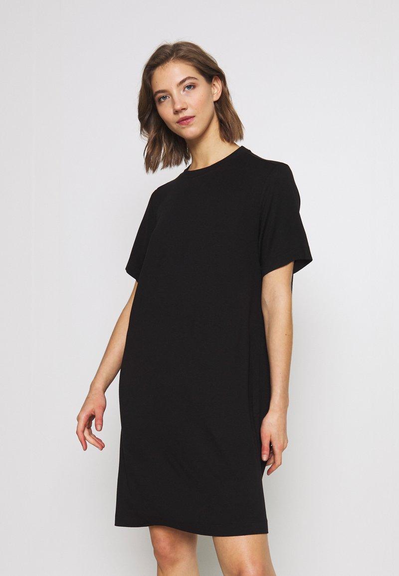Monki - KARINA DRESS - Jersey dress - black