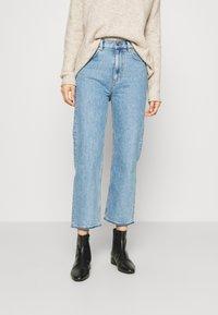 ARKET - JEANS - Jeans Skinny Fit - blue dusty - 0