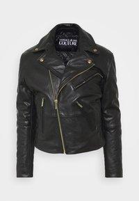 Versace Jeans Couture - Veste en cuir - nero - 10