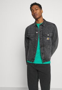 Carhartt WIP - STETSON JACKET PARKLAND - Giacca di jeans - black worn washed - 3
