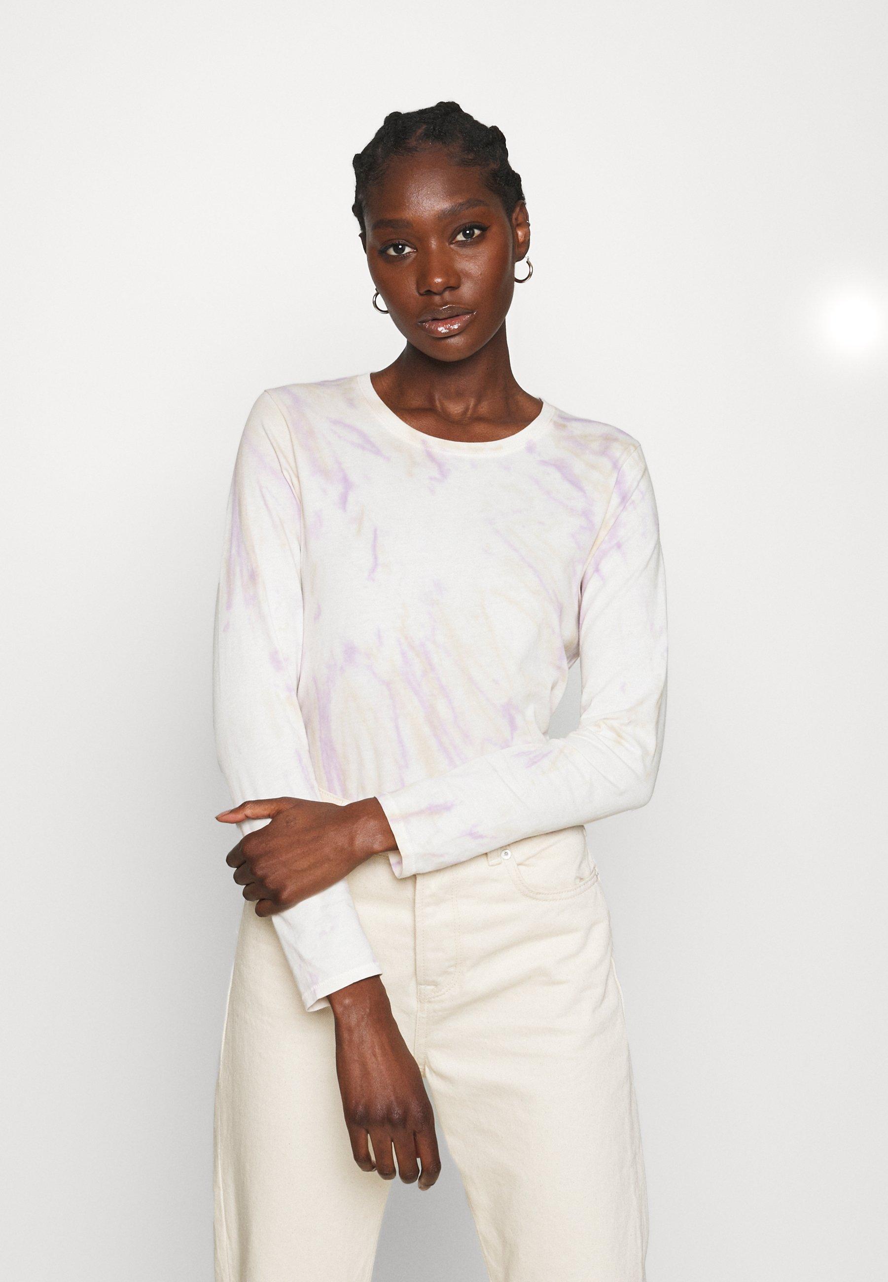 Women NORTHSIDE TIE DYE TEE - Long sleeved top