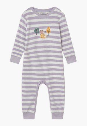 RETRO BABY ROMPER - Pyžamo - pale lilac