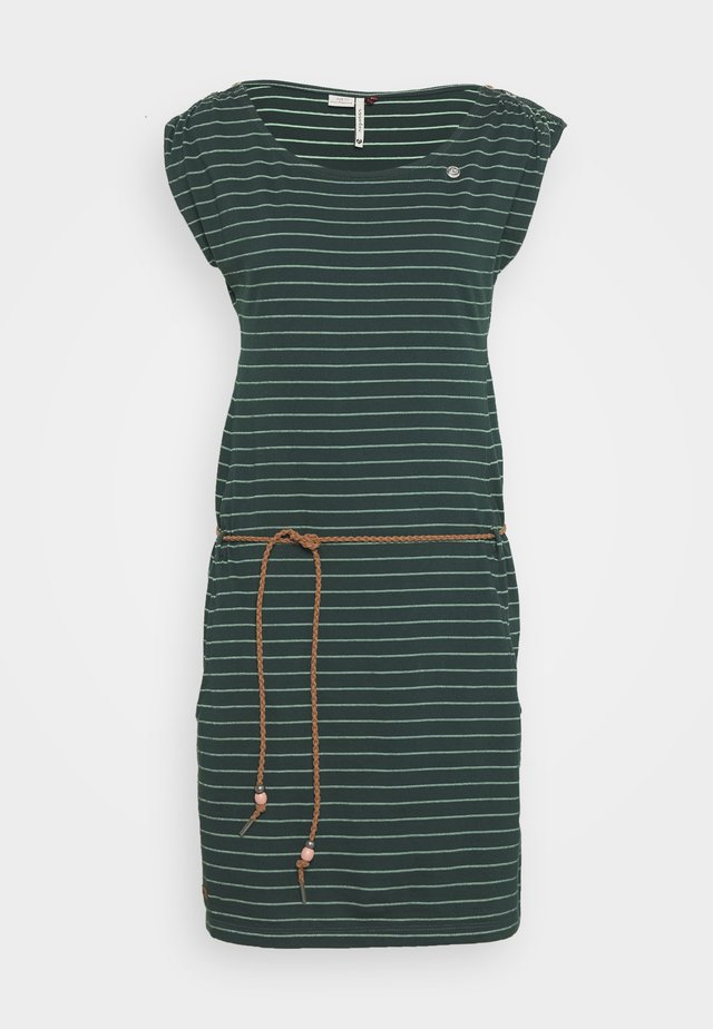 CHEGO - Jerseyklänning - dark green