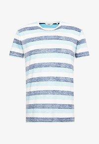 Solid - TJANOS - Print T-shirt - air blue - 3