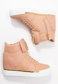 Guess - FREETA - Sneakers high - blush - 3