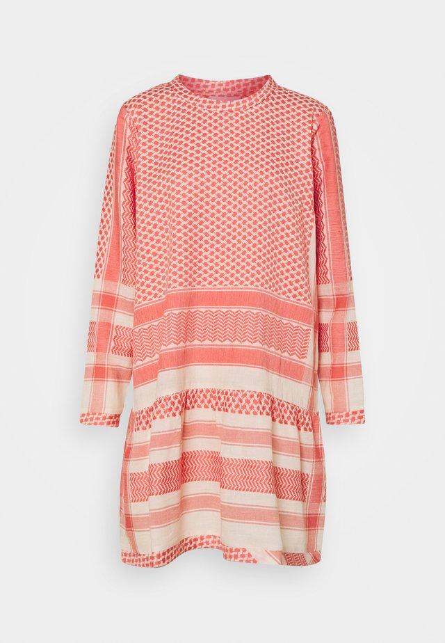 DRESS - Day dress - dew/emberglow